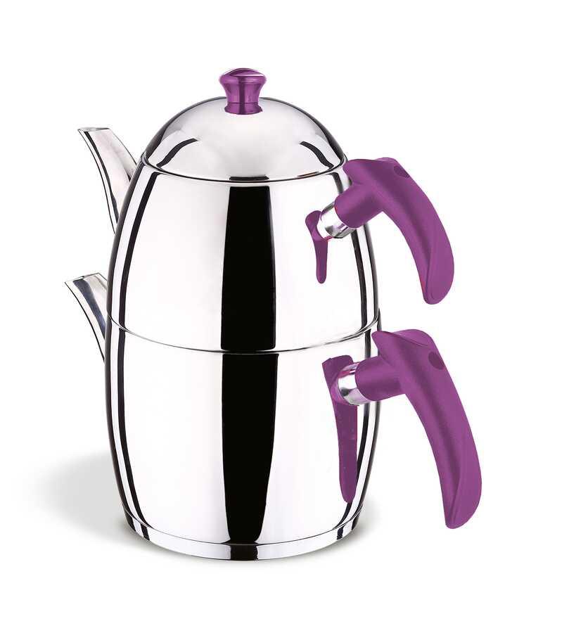 Prestij Soft Şiraz Bakalit Kulp Aile Çaydanlık